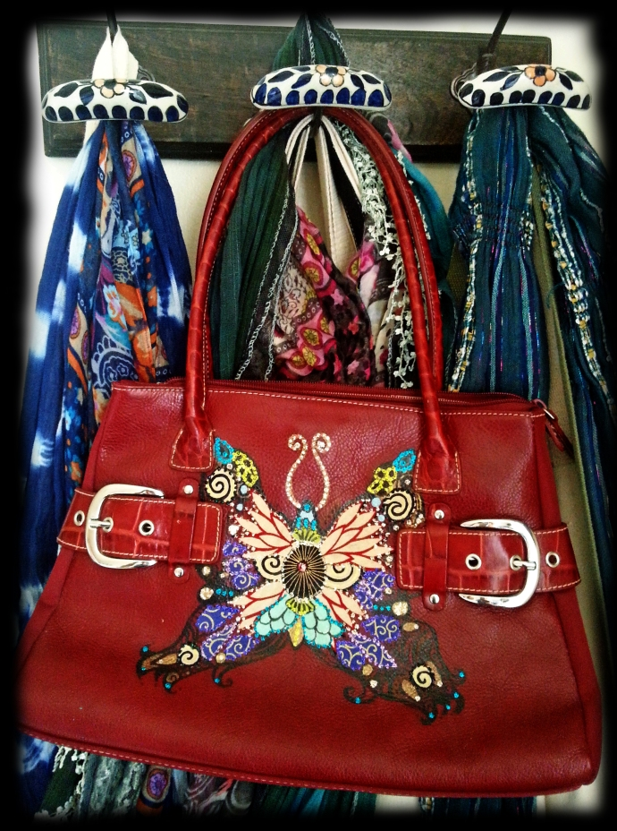Upcycled Butterfly Purse